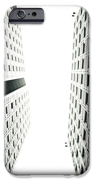 Grids Lines and glass structure - Google London Offices iPhone Case by Lenny Carter