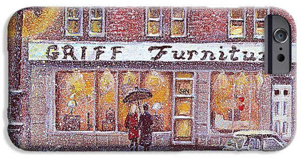 Recently Sold -  - Furniture iPhone Cases - Griff Valentines Birthday iPhone Case by Rita Brown