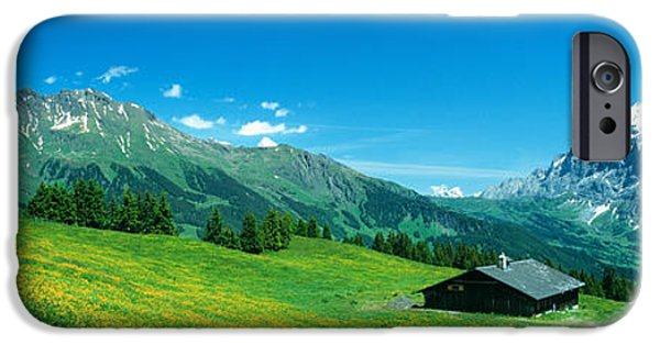 Grindelwald iPhone Cases - Grindelwald Switzerland iPhone Case by Panoramic Images
