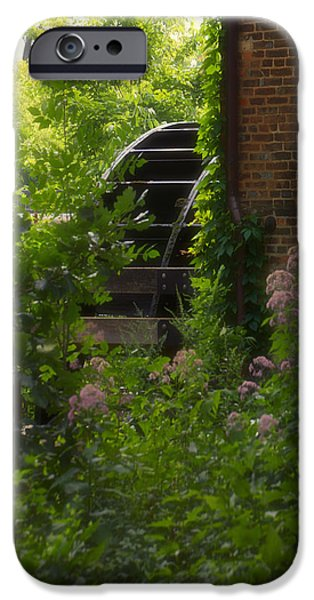 Grist Mill Wheel Vertical iPhone Case by Thomas Woolworth