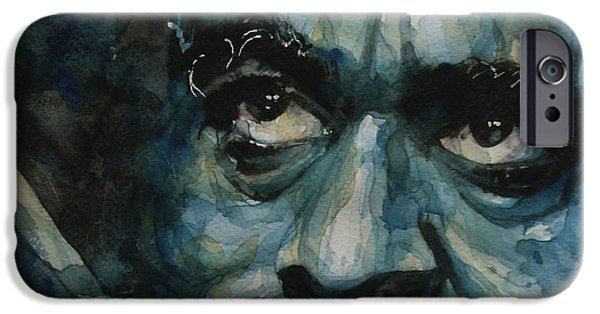 New Jersey Paintings iPhone Cases - Groovin High  Dizzy Gillespie iPhone Case by Paul Lovering