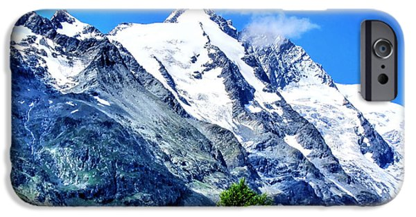Snow Scene iPhone Cases - Grossglockner iPhone Case by Andreas Thust
