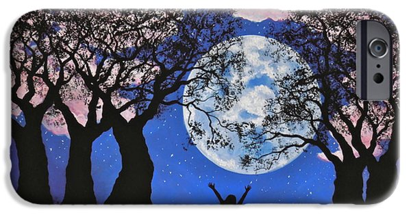 Moonscape iPhone Cases - Grounded iPhone Case by Cynthia Ring