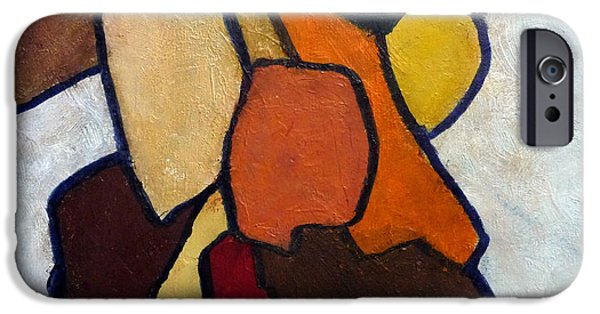 Business Paintings iPhone Cases - Group Hug iPhone Case by Jim Whalen