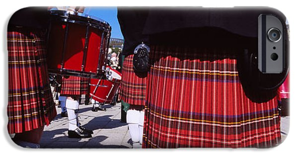 Adults Only iPhone Cases - Group Of Men Playing Drums In The iPhone Case by Panoramic Images