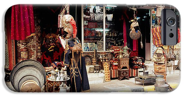 Group Of Objects iPhone Cases - Group Of Objects In A Market, Palmyra iPhone Case by Panoramic Images