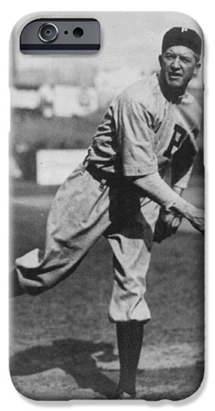 Grover Cleveland Alexander 1915 iPhone Case by Unknown