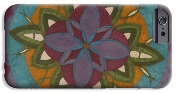 Development Mixed Media iPhone Cases - Growth iPhone Case by Janet Berch