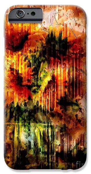 Zeana Romanovna iPhone Cases - Grungey Vintage Sunflowers iPhone Case by Georgiana Romanovna