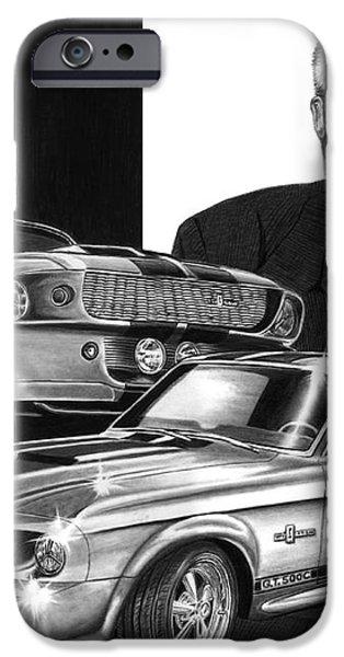 GT 500c iPhone Case by Peter Piatt
