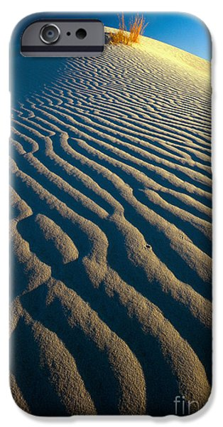 Sand Dunes iPhone Cases - Guadalupe Dune iPhone Case by Inge Johnsson