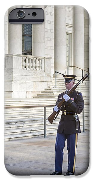 D.c. iPhone Cases - Guard Of Honor iPhone Case by Susan Candelario