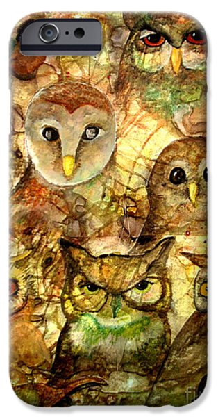 Amy Sorrell iPhone Cases - Guardians iPhone Case by Amy Sorrell