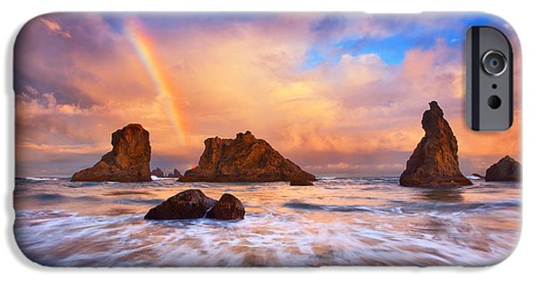 Pacific Ocean Prints iPhone Cases - Guardians of the Sea iPhone Case by Darren  White