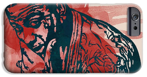 2007 iPhone Cases - Gucci Mane - Pop Stylised Art Sketch Poster iPhone Case by Kim Wang