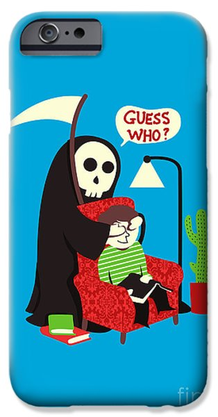 Guess Who iPhone Case by Budi Satria Kwan