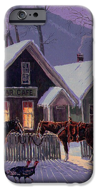 Guest For Dinner iPhone Case by Randy Follis