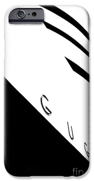 Symmetrical Photographs iPhone Cases - Gugg iPhone Case by Az Jackson