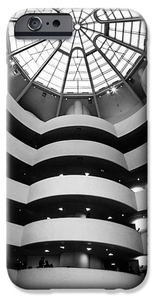 Ground iPhone Cases - Guggenheim Museum Ground Floor iPhone Case by Az Jackson
