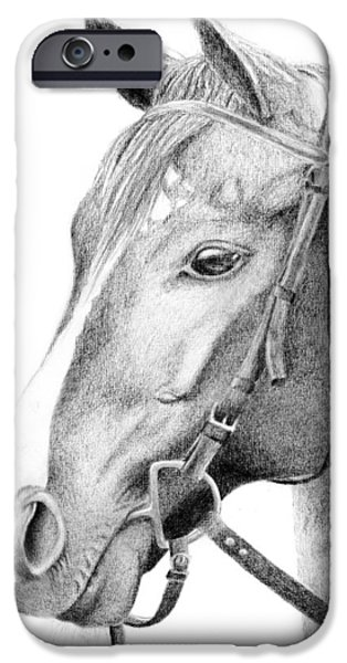 Horse Bit iPhone Cases - Guide iPhone Case by Kayleigh Semeniuk
