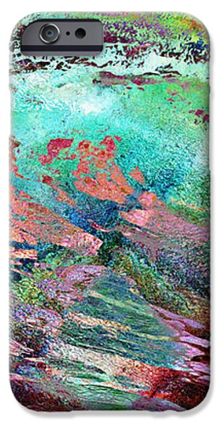 Guided By Intuition - Abstract Art iPhone Case by Jaison Cianelli