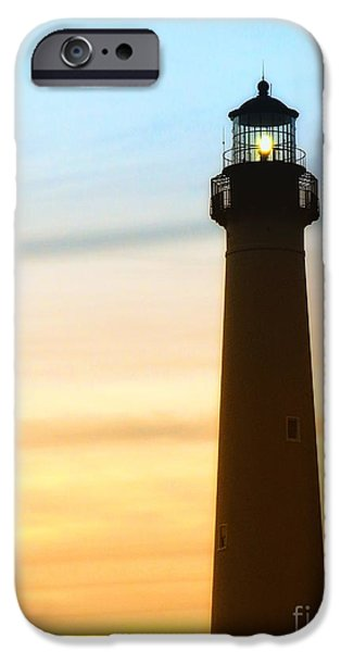 Lighthouse iPhone Cases - Guiding Light iPhone Case by Sharon Woerner