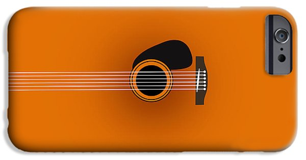 Animation iPhone Cases - Guitar 2 iPhone Case by Mark Ashkenazi