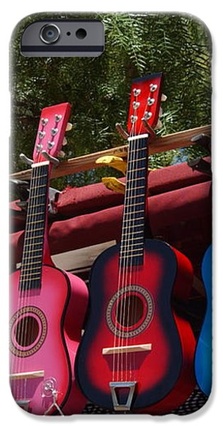Guitars in Old Town San Diego iPhone Case by Anna Lisa Yoder