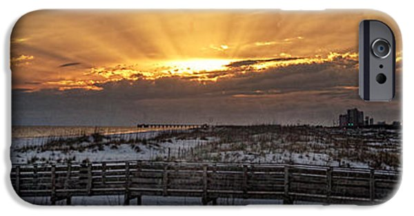 Micdesigns iPhone Cases - Gulf Shores From Pavilion iPhone Case by Michael Thomas