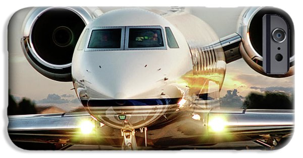 Private iPhone Cases - Gulfstream G550 iPhone Case by James David Phenicie