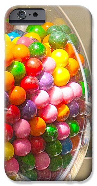 Gumball Machine iPhone Case by Artist and Photographer Laura Wrede