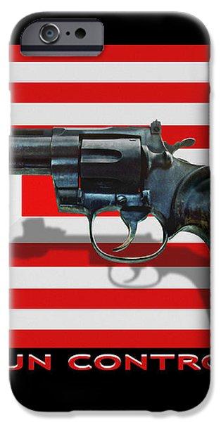 Gun Control iPhone Case by Mike McGlothlen