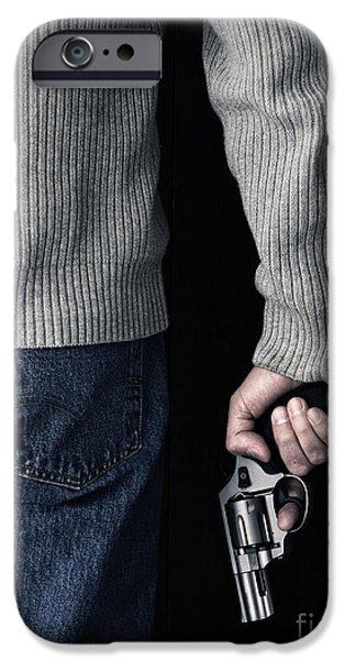 Gun iPhone Case by Edward Fielding