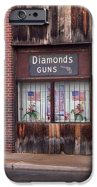 Gun Shop iPhone Case by Frank Romeo