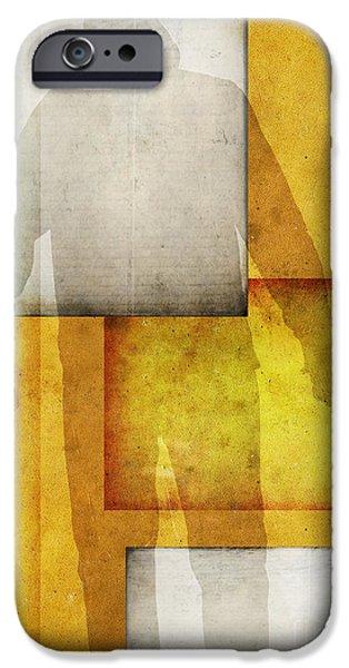 Gunman iPhone Case by Edward Fielding