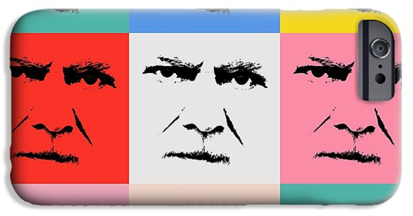 Work Tool Mixed Media iPhone Cases - Gunnar Hansenpopart iPhone Case by Toppart Sweden