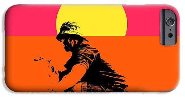 Epic iPhone Cases - Guy surfing  iPhone Case by Toppart Sweden