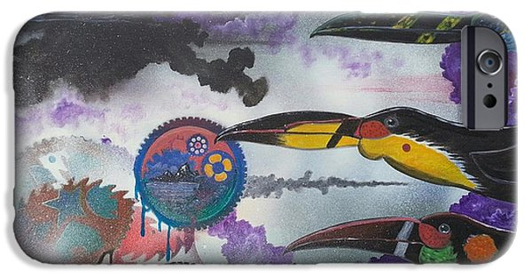 Abstract Seascape iPhone Cases - Guys what gear are we in ? iPhone Case by Jody Poehl