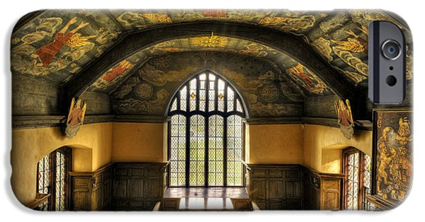 Seventeenth Century iPhone Cases - Gwydir Uchaf Chapel Conwy Valley iPhone Case by Mal Bray
