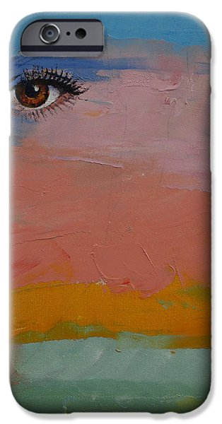 Michael iPhone Cases - Gypsy iPhone Case by Michael Creese