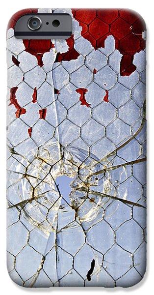 H O M I C I D E iPhone Case by Charles Dobbs