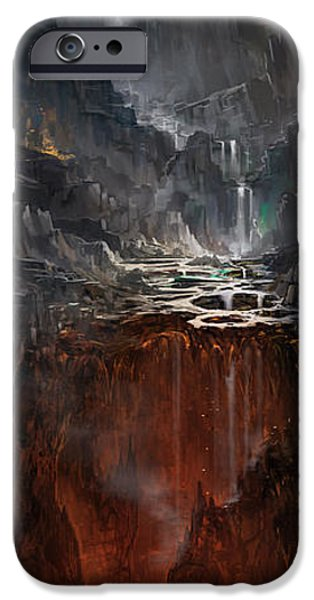 Creepy iPhone Cases - Hades iPhone Case by Jeff Brown