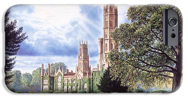 Stately iPhone Cases - Hadlow Tower iPhone Case by Steve Crisp