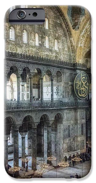 Hagia Sophia Interior iPhone Case by Joan Carroll