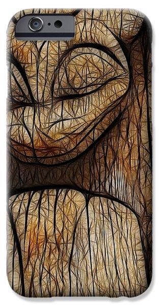 Haida Totem iPhone Case by Bob Christopher