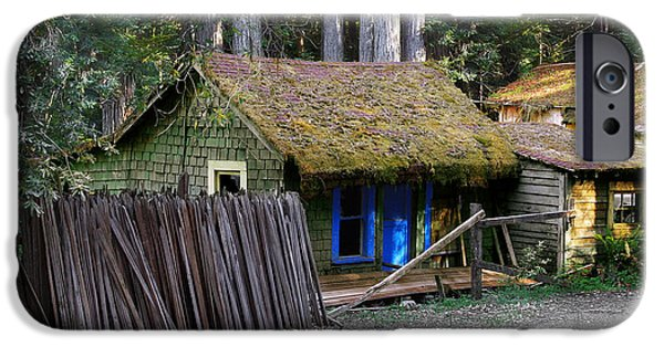 Hut iPhone Cases - Hales Grove CA iPhone Case by Christine Till