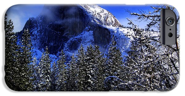 Recently Sold -  - Bill Gallagher iPhone Cases - Half Dome Clearing iPhone Case by Bill Gallagher