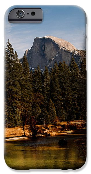 Bill Gallagher iPhone Cases - Half Dome Spring iPhone Case by Bill Gallagher