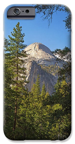 Half Dome Yosemite iPhone Case by Jane Rix