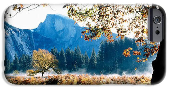 Autumn iPhone Cases - Half Dome, Yosemite National Park iPhone Case by Panoramic Images